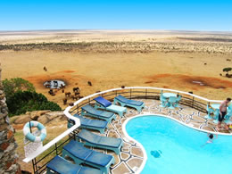Tsavo East Voi Safari Lodge View